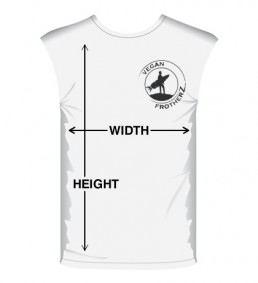 Muscle tee sizing guide