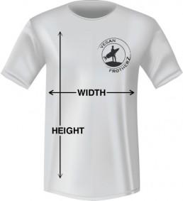 Standard shirt sizing guide